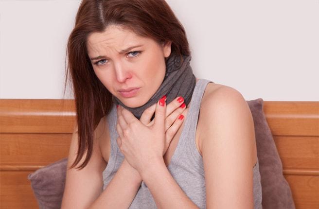 Ангина: симптомы